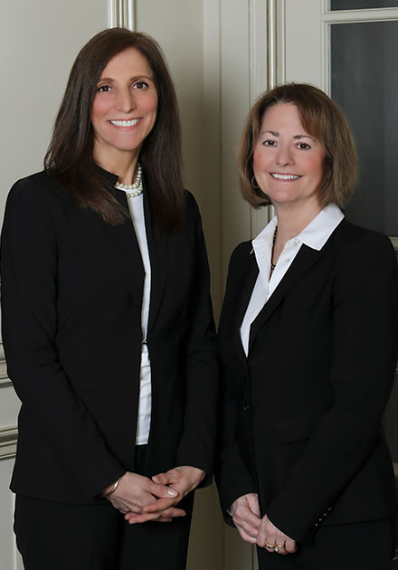 Attorneys Nancy Nihem & Amy Hartmann